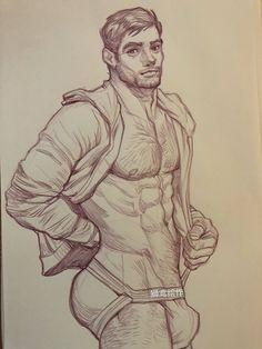 dibujos gays sensuales