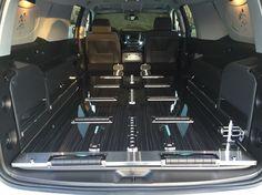 K2 Chevy Suburban hearse interior