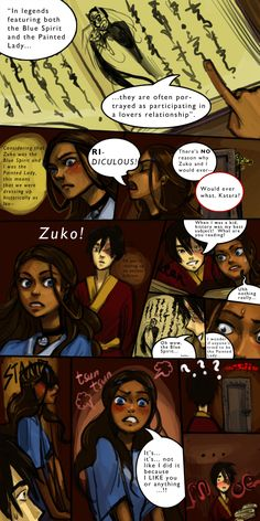 "Ahh...clueless Zuko and easily flustered Katara is best afterall!  Zutara Week 2011 - ""History"" by yume-darling.deviantart.com on @deviantART"