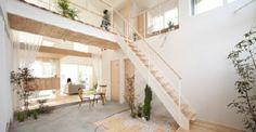 Kofunaki House: un moderno eco-villaggio che porta la natura dentro casa
