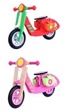 dushi wooden scooters