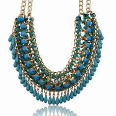Hot Bohemian Acrylic Beads Chunky Bib Statement Choker Necklace Pendant | Jewellery & Watches, Costume Jewellery, Necklaces & Pendants | eBay!