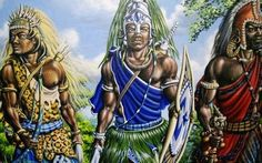 #Warriors:  Ochossi, Ogun  , Eleggua