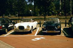 Two Volvo's P 1900, EGO 056 & DYJ 578