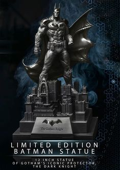 The 'Arkham Knight Limited Edition' Collectible Statue