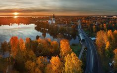Autumn in Saint Petersburg, Russia photo By Ilya Shtrom Urban Photography, Landscape Photography, Travel Photography, Amazing Photography, Creative Photography, Beautiful Sunset, Beautiful Places, St Petersburg Russia, Beauty Around The World
