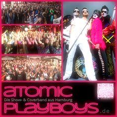 ATOMIC PLAYBOYS (Die Show- & Coverband aus Hamburg)