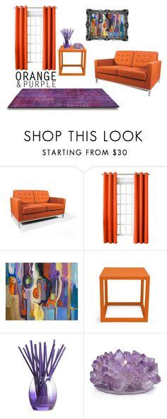 """simple home decor"" by moonlightprinces on Polyvore featuring interior, interiors, interior design, home, home decor, interior decorating, Rove Concepts, Sun Zero, Jonathan Adler and Joy Mangano"