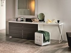 Wooden dresser DYNO DESK Dyno Collection by Cattelan Italia | design Paolo Cattelan