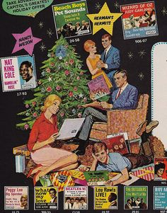 Capitol Records Club Holiday Ad 1966...fantastic...look at all the album covers!
