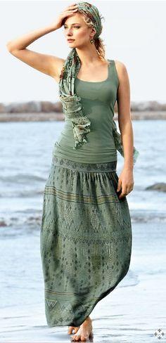 Saravan Pima Cotton Skirt