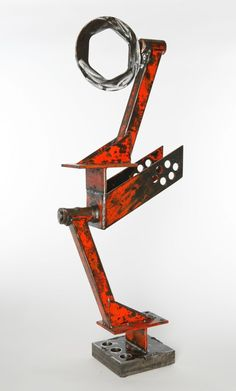 abstract metal sculptures - Google Search
