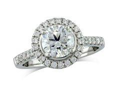 centre Colour H, Clarity - 1380150380 Diamond Cluster Ring, Diamond Rings, Diamond Engagement Rings, Diamond Jewelry, Jewellery Uk, Clarity, Centre, Colour, Style