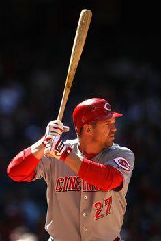 Scott Rolen - 3B - Cincinnati Reds He was a great 3rd baseman for the Cardinals, I loved to watch him play!