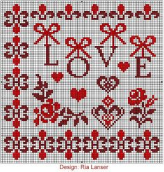 "ONE OF A KIND: JUNE ""CROSS Stitch-Wzorcownia"" - Ria Lanser."