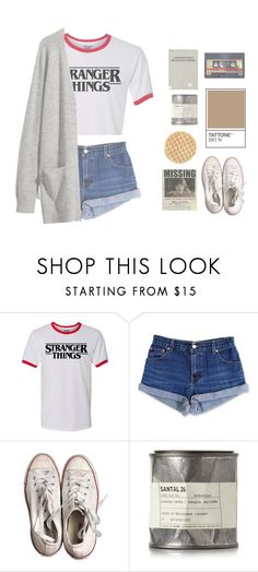 """Stranger things"" by switchkid ❤ liked on Polyvore featuring Levi's, H&M, Converse and Le Labo"