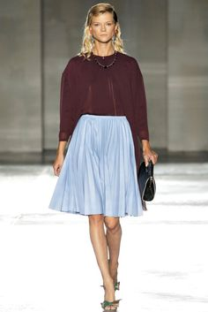 Prada, that skirt...