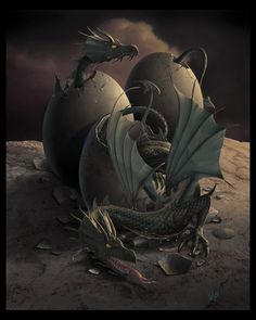 OFFSPRING - Dragon Art - by ~wallace on deviantART