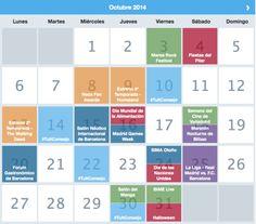 Calendario momentos clave #Twitter #PlanTheMoment