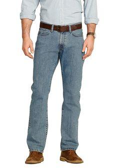 Produkttyp , 5 Pocket Jeans, |Optik , Leichte Used Optik, |Stil , Casual, |Bund+Verschluss , Reißverschluss, |Passform , bequem an Hüfte und Oberschenkeln, |Leibhöhe , Bund oberhalb der Taille, |Beinform , gerades Bein, |Vordertaschen , Schräge Eingrifftaschen, |Gesäßtaschen , Mit aufgesetzten Taschen, |Saum , durchgesteppt, |Material , Baumwolle, |Materialzusammensetzung , 100% Baumwolle., |Pf...