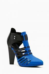 Reaction Bootie - Blue in Shoes Shoe Cult at Nasty Gal