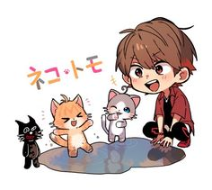 Cute Chibi, Kiyo, Avatar, Pikachu, Manga, My Love, Illustration, Funny, Anime