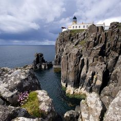 Neist Point Lighthouse by Claire Shearer, via 500px.