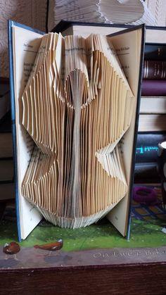 Christmas Angel Fairy Book Folding Pattern by CraftyHana on Etsy £2.50