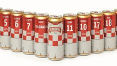 Ball Packaging Europe's printing technology has been used to create twelve can collectibles featuring Croatian national football team names ahead of the FIFA World Cup.