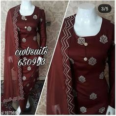 Adorable Jam Cotton Embroidery Dress Material from House of Ethnicz Salwar Suit With Price, Salwar Dress, Salwar Suits, Punjabi Suits Designer Boutique, Ethnic Gown, Dress Indian Style, Cotton Suit, Embroidery Dress, Suits For Women