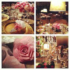 pink, casamento, decoracao
