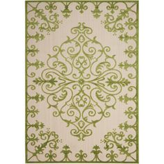 Zoey Indoor/Outdoor Rug in Green