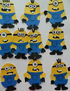 minions! Josh has decided this is our craft project for tomorrow.
