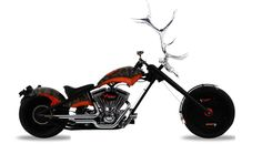 Awesome bike from Orange County Choppers! Looks damn heavy