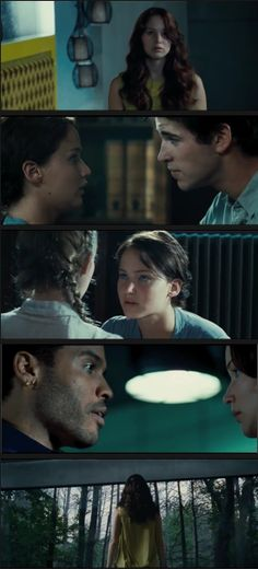 Here are some of the new screen shots from the latest Hunger Games TV spot!