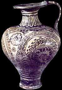 Minoan Ewer, palace style, 1500-1400 BC