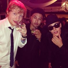 alfredoflores: After the show is the after party! #SYBWedding
