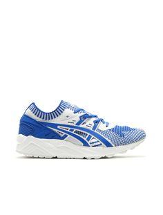 Asics Gel Kayano Knit: Blue/White · Onitsuka TigerAsicsMen's Shoes