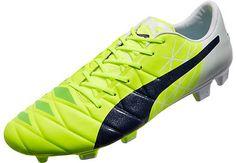 Puma evoACCURACY 1 MB FG Soccer Cleats - Yellow