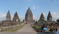 Prambanan tempel, Java, Indonesia