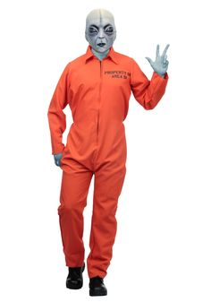 Adult Costume - Area 51 Escapee - FOREVER HALLOWEEN Scary Halloween Costumes, Adult Costumes, Woman Costumes, Pirate Costumes, Couple Costumes, Princess Costumes, Group Costumes, Couple Halloween, Grey Alien