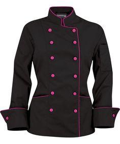 cake black chef coats with logos - Google Search Ropa De Chef dd5048a8aeddd