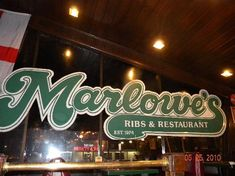Marlowe's Barbecue - Memphis, Tennessee. Best BBQ chicken I've ever had.