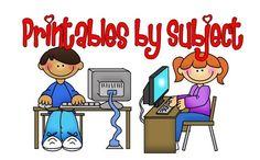 1st grade printables kidspretty