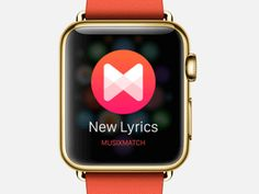 Musixmatch for Apple Watch - part 1