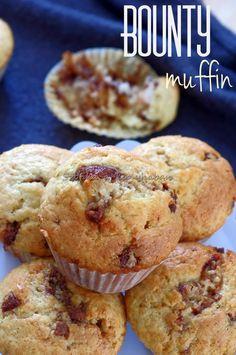 Szofika a konyhában...: Bounty muffin