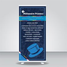 Standard Pull Up/Roll Up Banner Size:  2000 x 845mm Includes mechanism and bag #banner #banners #pullup #rollup #marketing #branding #printing #digitalprinting #promotionalproducts #promotionalitems #expo #exhibition #exhibitionstand #bannerdesign #print #customised  #conferences #business #businessbranding #events #display