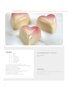 Strawberry mint praliné (recipe) | Pâtissier Ewald Notter // So Good..Magazine #2