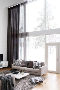 Verhot korkeisiin ikkunoihin/Eurokangas