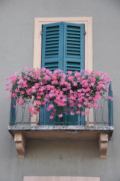 Italian window with balcony